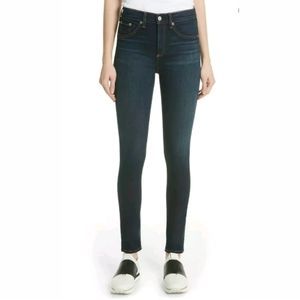 Rag & Bone/JEAN High-Rise Ankle Skinny Jeans Pants